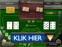Live Baccarat - Klaver Casino button