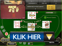 Live Blackjack - Klaver Casino button